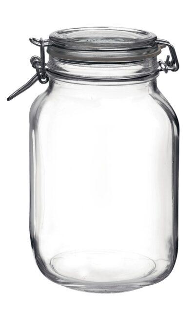 Klaasist säilituspurk klambriga Bormioli Rocco Fido