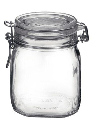 Klaasist säilituspurk klambriga 0.75 l Bormioli Rocco Fido