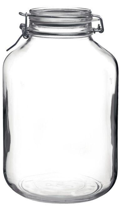 Klaasist säilituspurk klambriga 1 l Bormioli Rocco Fido