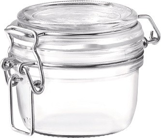 Klaasist säilituspurk klambriga 0.125 l Bormioli Rocco Fido