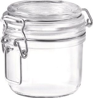 Klaasist säilituspurk klambriga 0.35 l Bormioli Rocco Fido